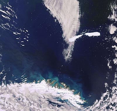 Рождение айсбергов, фото с места событий