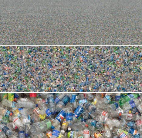 Безбрежное море пластиковых бутылок