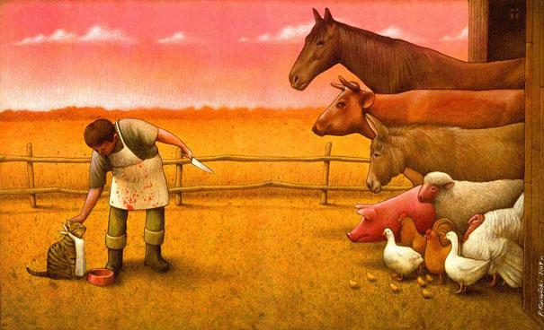 Домашние животные - двойные стандарты