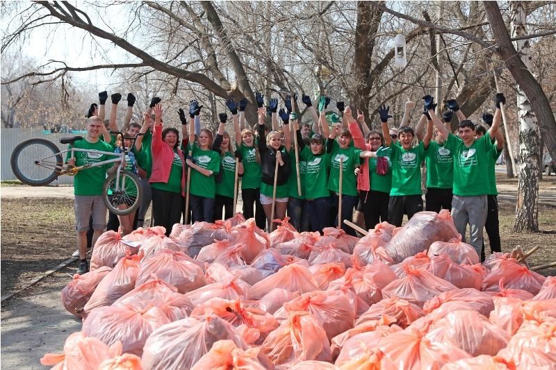 Coca Cola сбор мусора