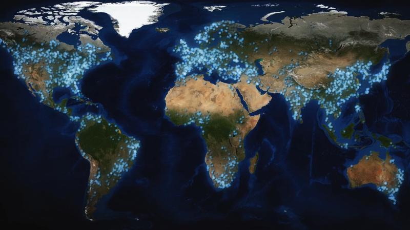 Жажда мира: плотины в мире