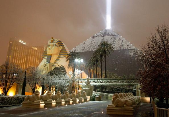 Снегопад в Египте