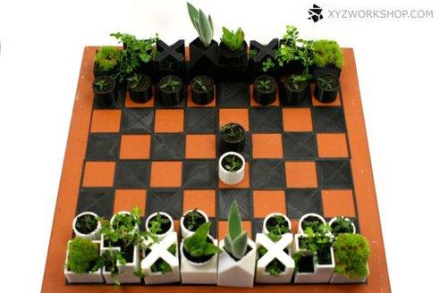 Зелёные шахматы