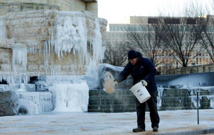 Морозы в Америке
