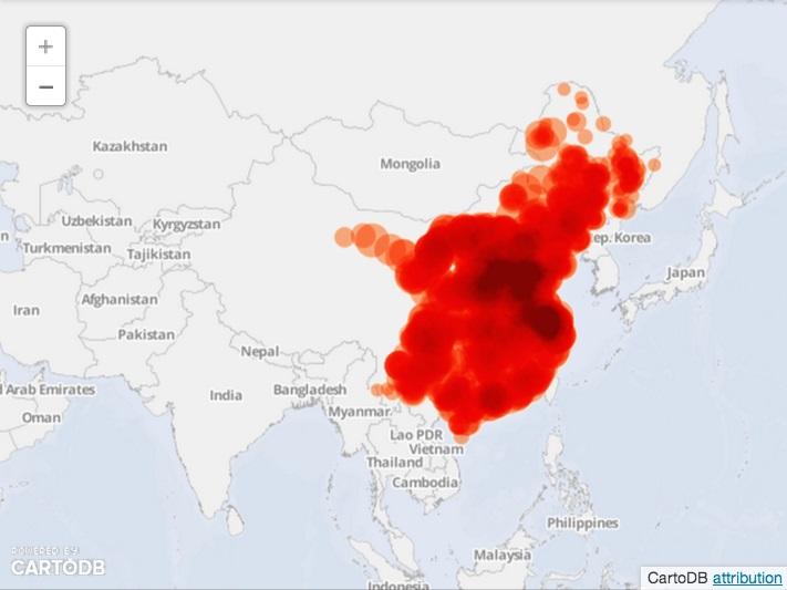 Выбросы угольных электростанций в Китае