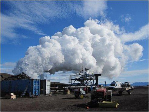 Геотермальная энергия в Исландии