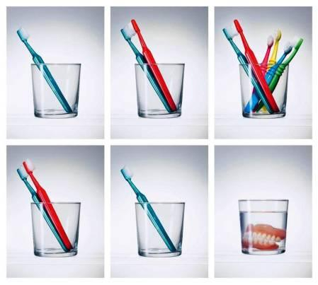 Зубные щётки и жизнь человека