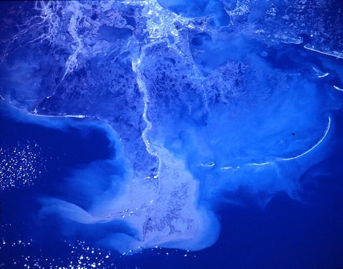 Дельта реки Миссисипи, США