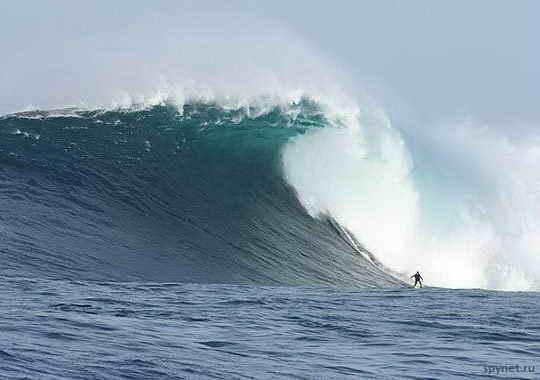Волны в Калифорнии