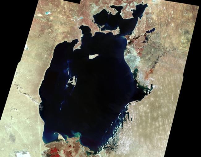 Аральское море в 1973 году