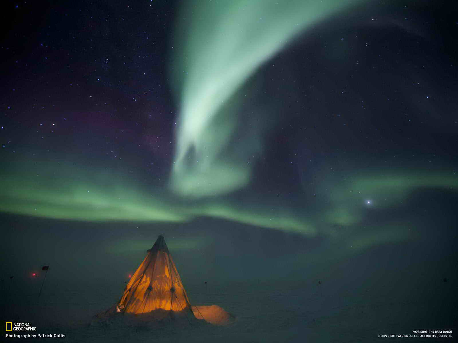 Антарктида. Станция Амундсена и Скотта.