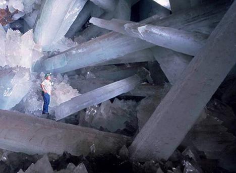 Пещера кристаллов