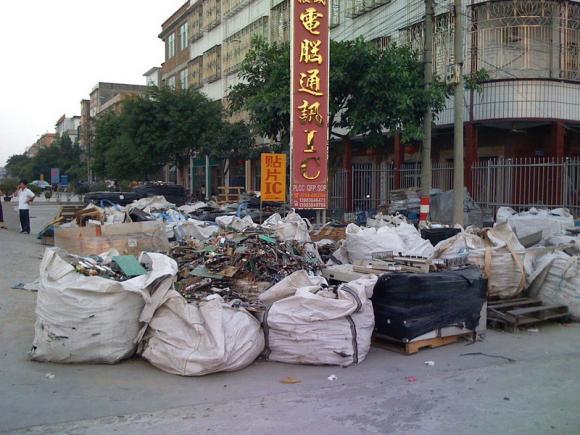 Глобальная проблема электронных отходов