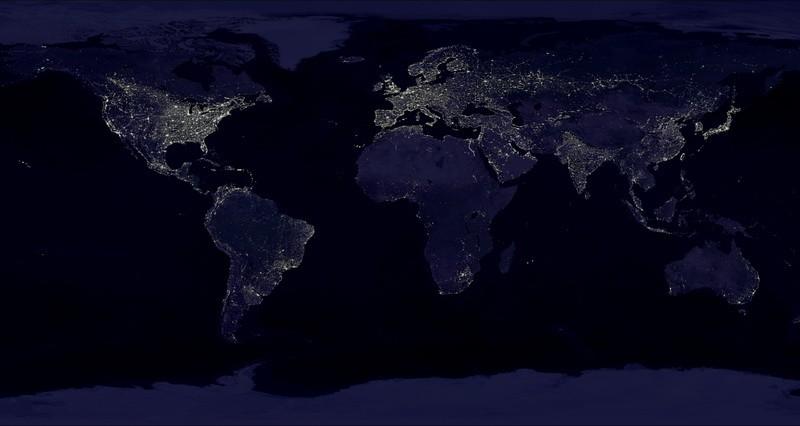 Световое загрязнение представляет большую угрозу для многих видов дикой природы