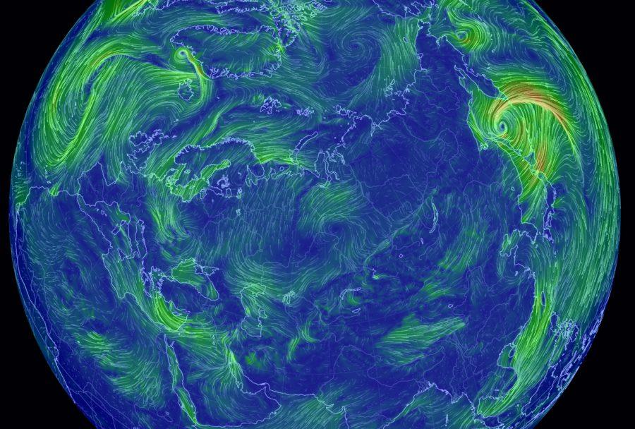 Интерактивная карта ветров