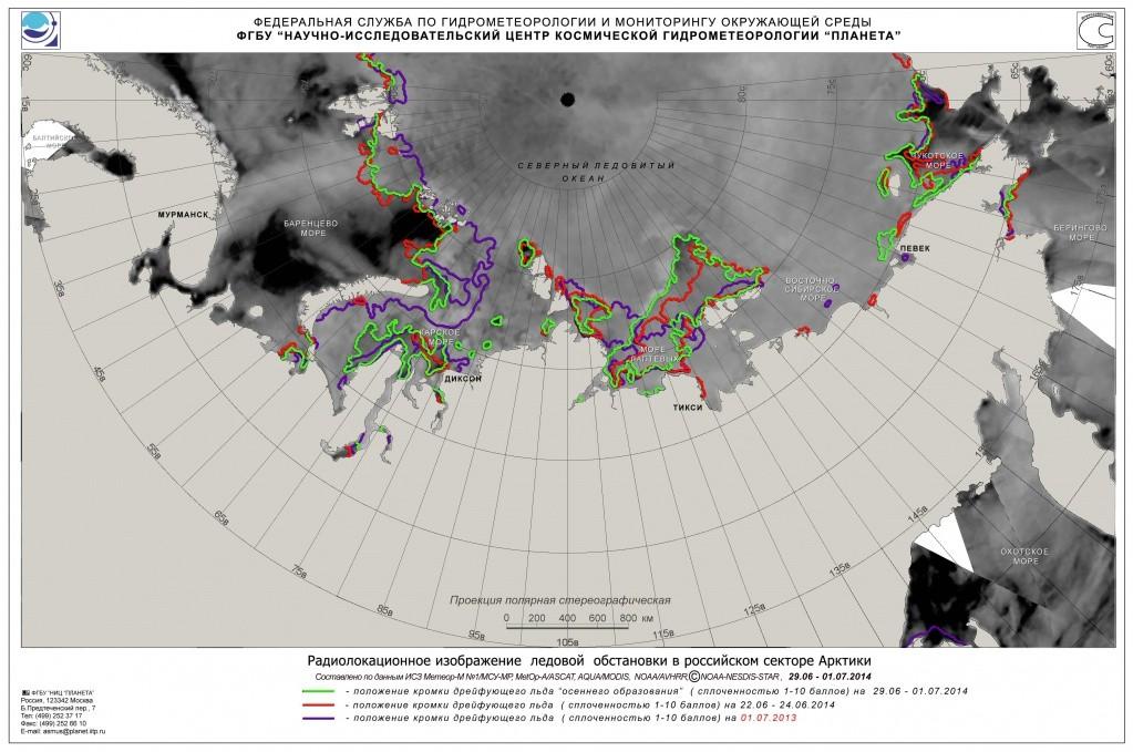 Оледенение в Арктике