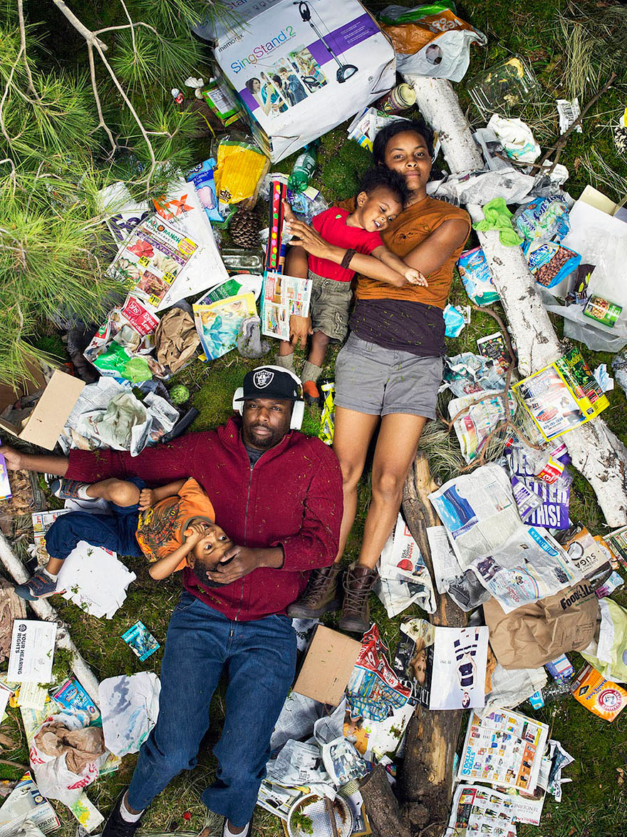 7Люди и их мусор