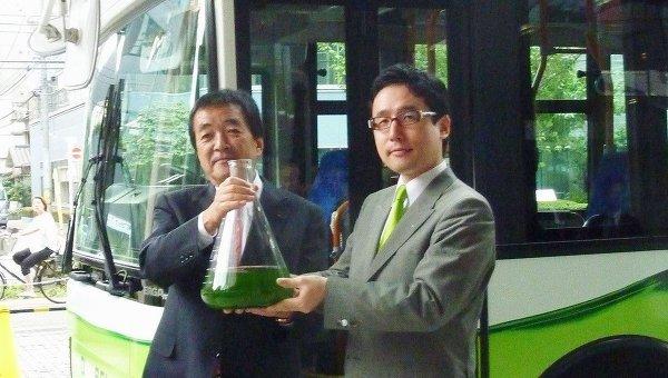Автобус на биотопливе