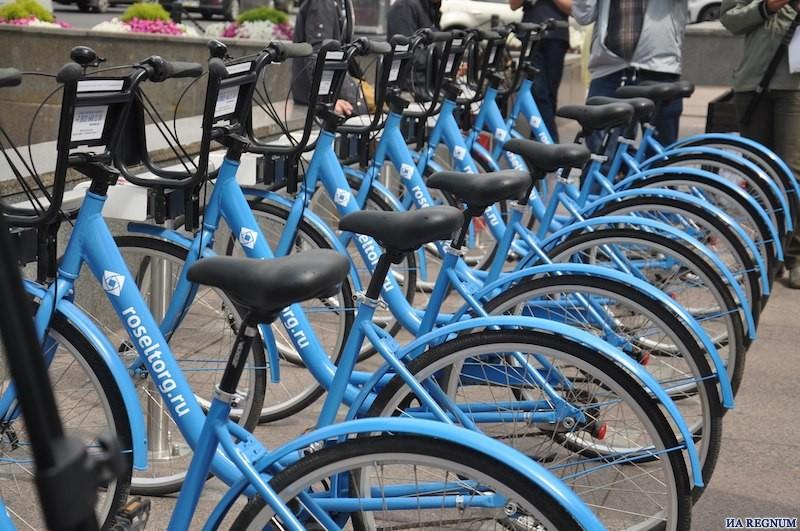 Велопарковки в Санкт-Петербурге
