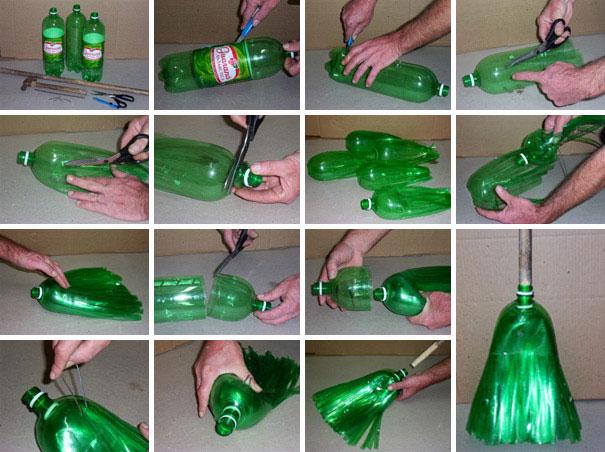 Креативные способы использования пластиковой тары