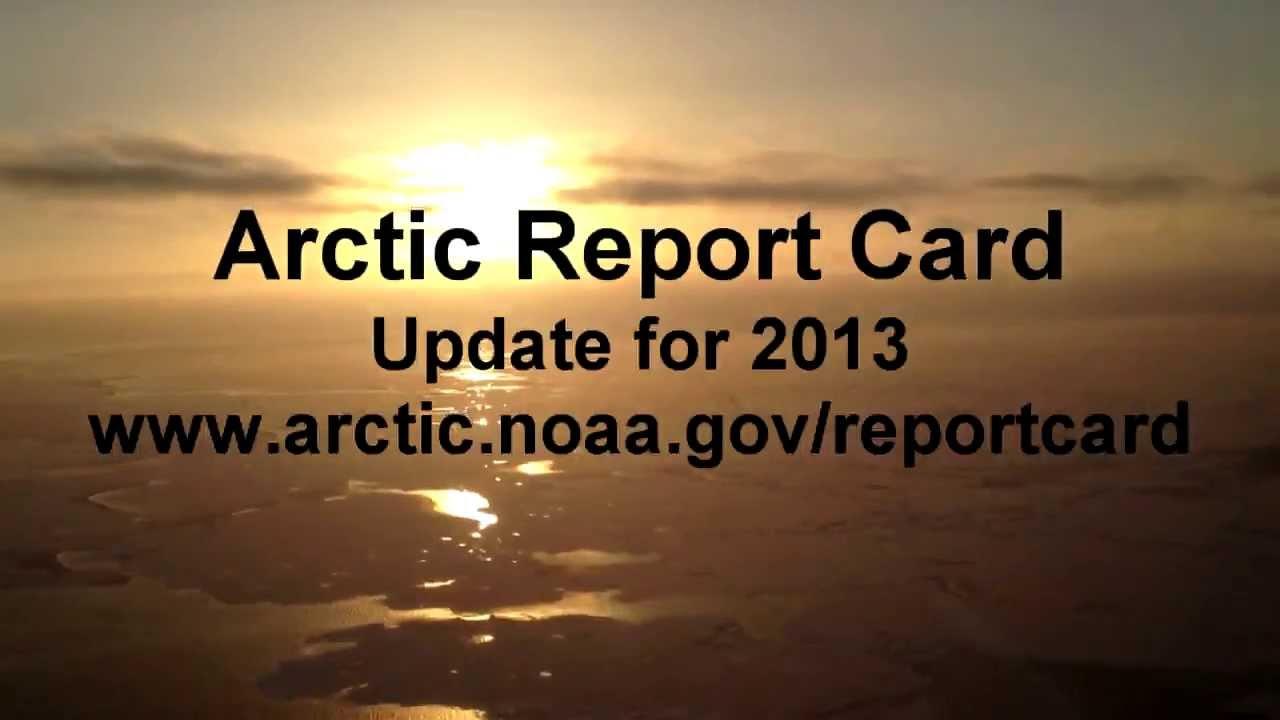 Arctic Report 2013