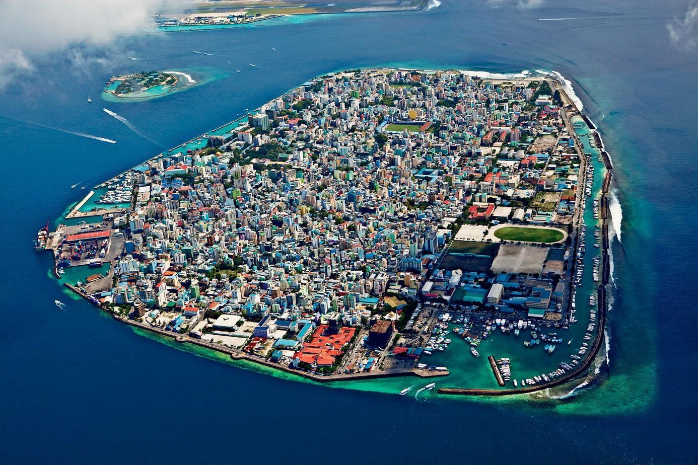 Город - остров Мале