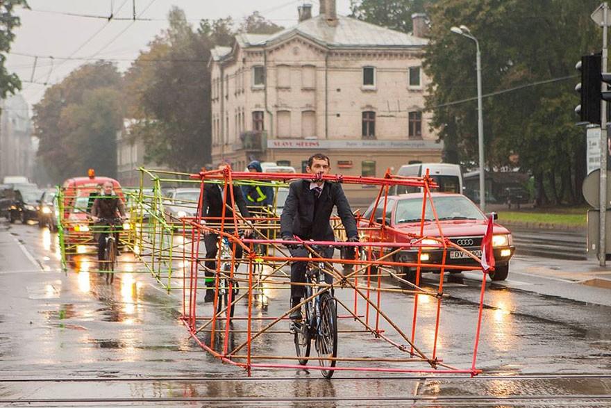 День без автомобиля в Латвии