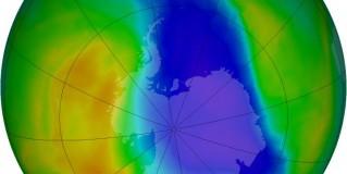 Площадь озоновой дыры над Антарктидой превысила размер материка в 1,7 раза