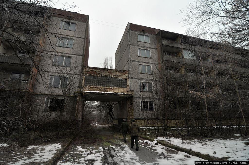 дома Припяти