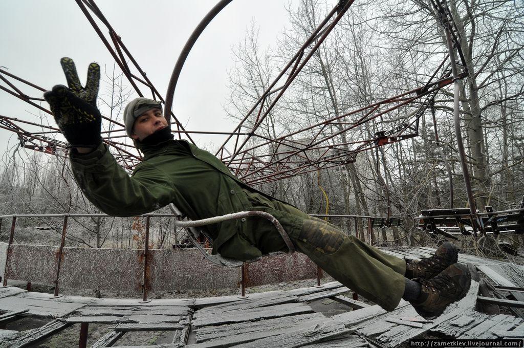 Карусель в Парке Культуры Припяти