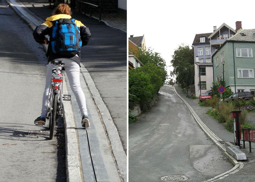 bicycle-escalator
