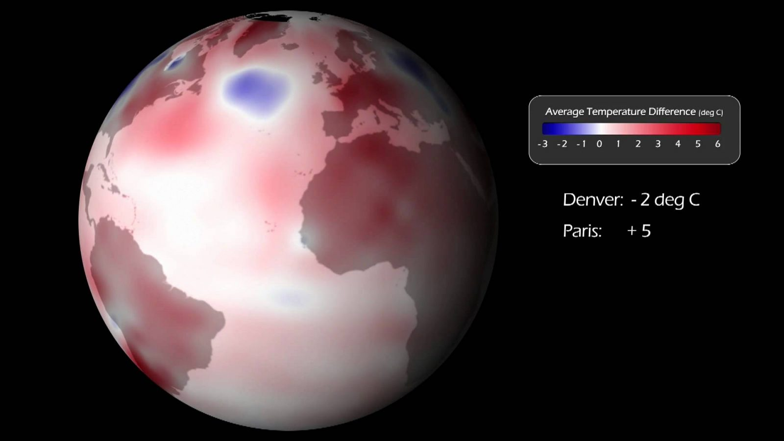 В августе температура поверхностного слоя вод Мирового океана достигла нового рекордного значения