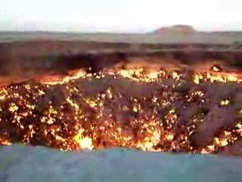 Врата Ада находятся в Туркменистане