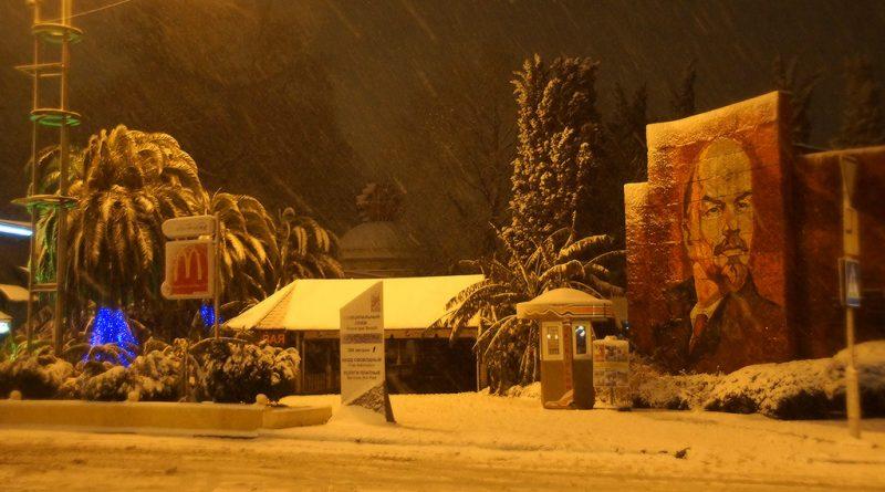 Сочи под снегом