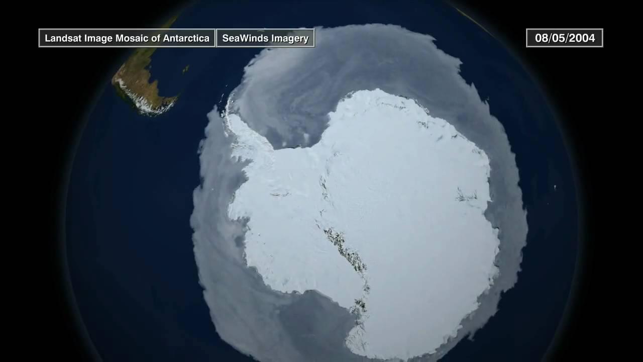 NASA: Криосфера Земли в 2009 году