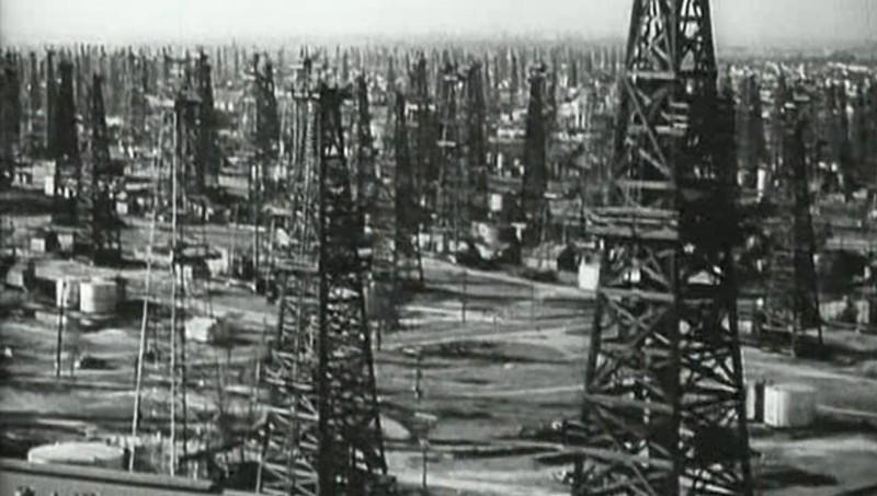 Нефтяные вышки Калифорнии