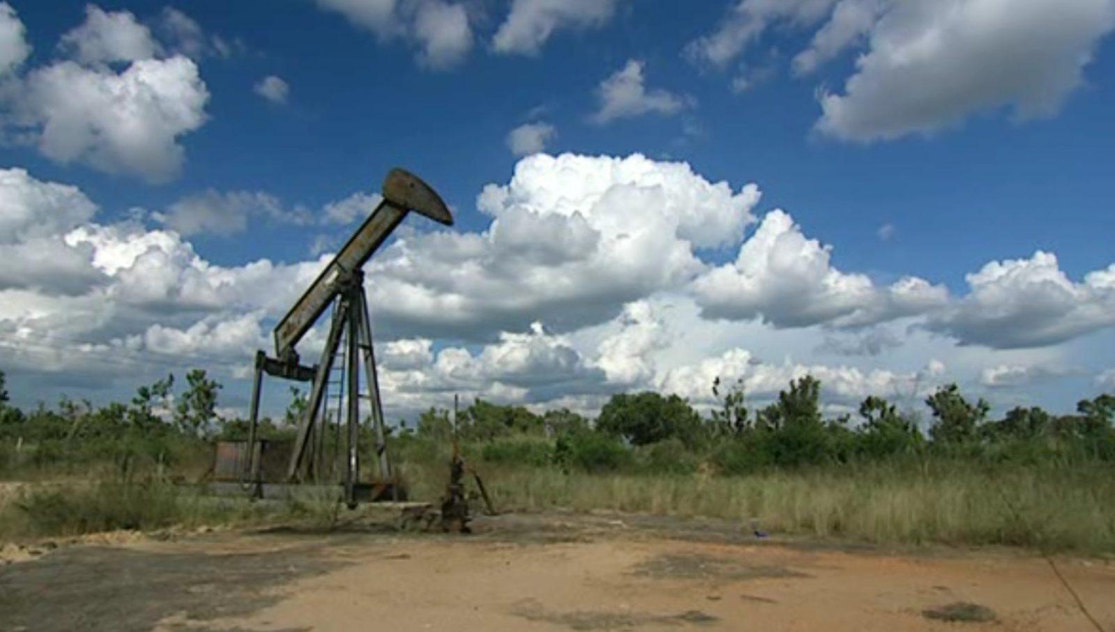 Заброшенные нефтяные вышки Техаса