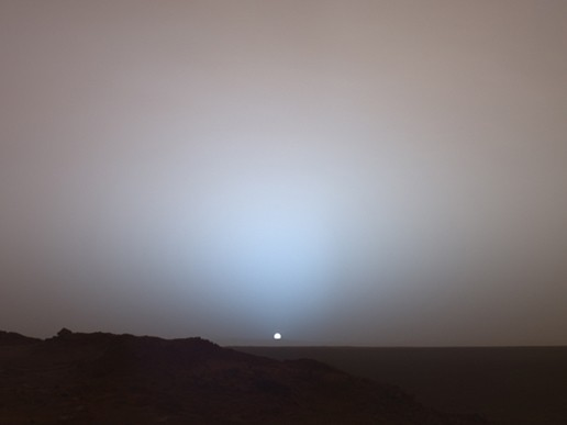 Sunset_on_Mars