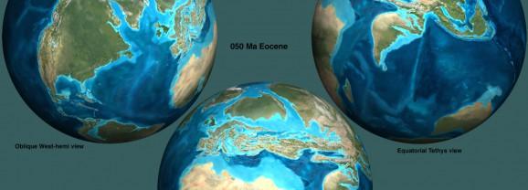 Земля в Эоцене
