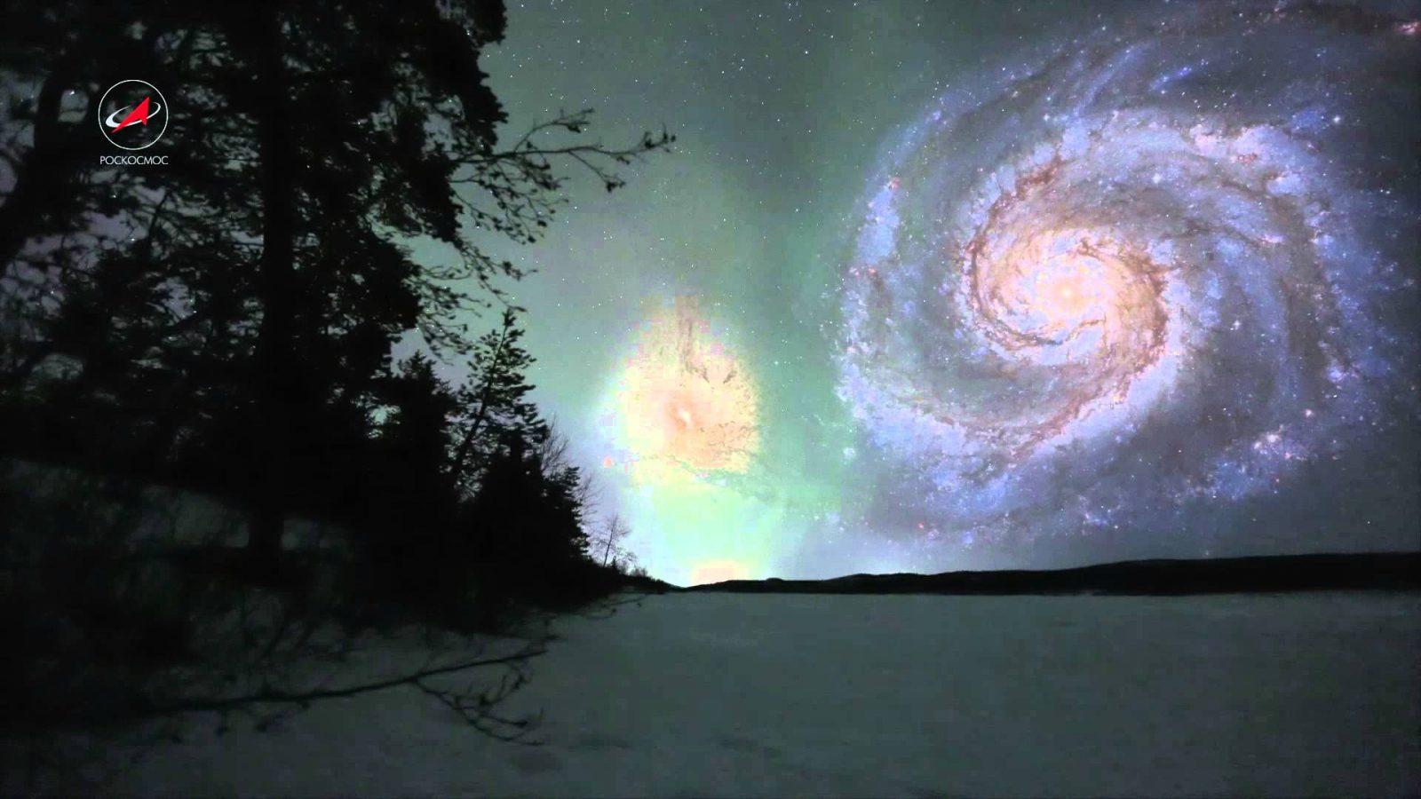 Если галактики были бы к нам ближе