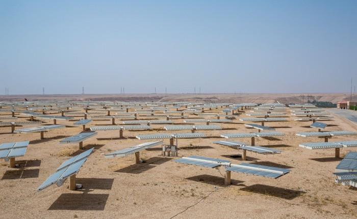 Солнечные электростанции в пустыне