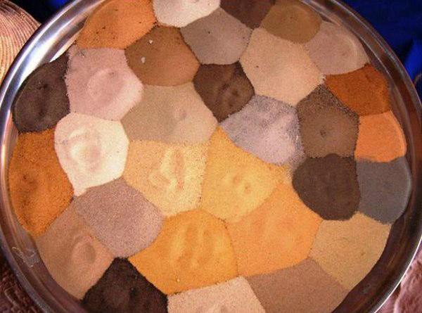 песок Сахары