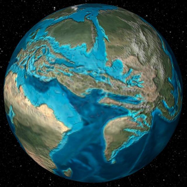 Как выглядела Земля 600 млн лет назад?
