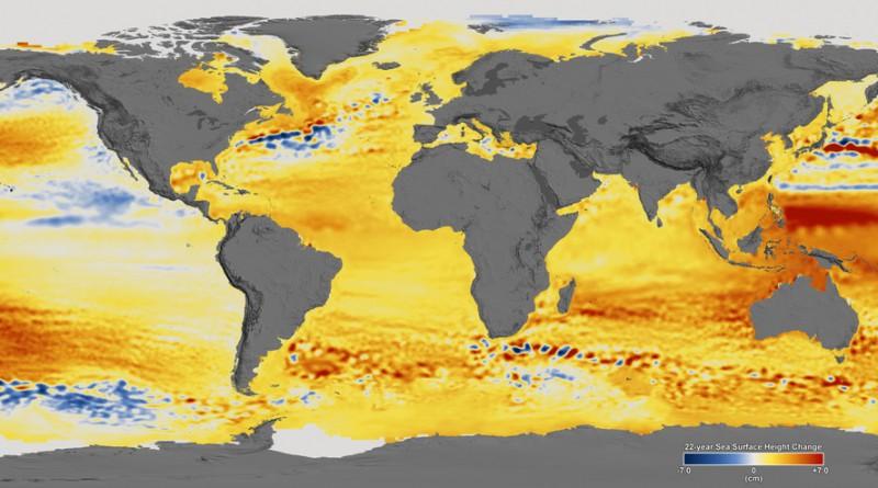 рост уровня вод Мирового океана