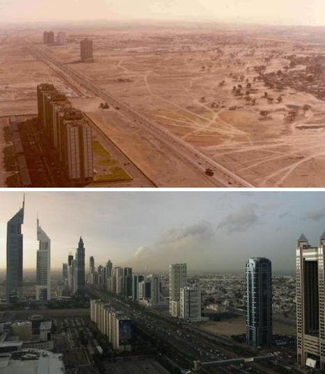 Дубай - рост города