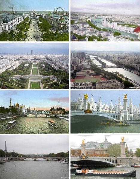 Историческое фото Парижа