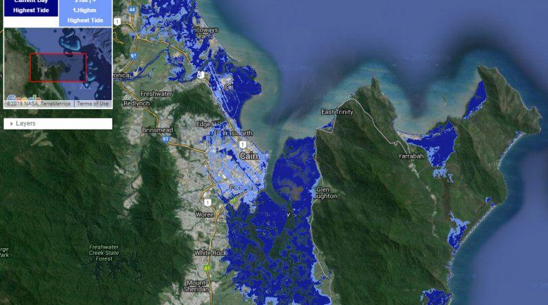 Побережье Австралии во время глобального потепления