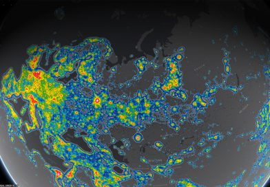 Создан новый атлас светового загрязнения