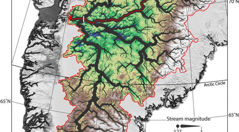 карта Гренландии