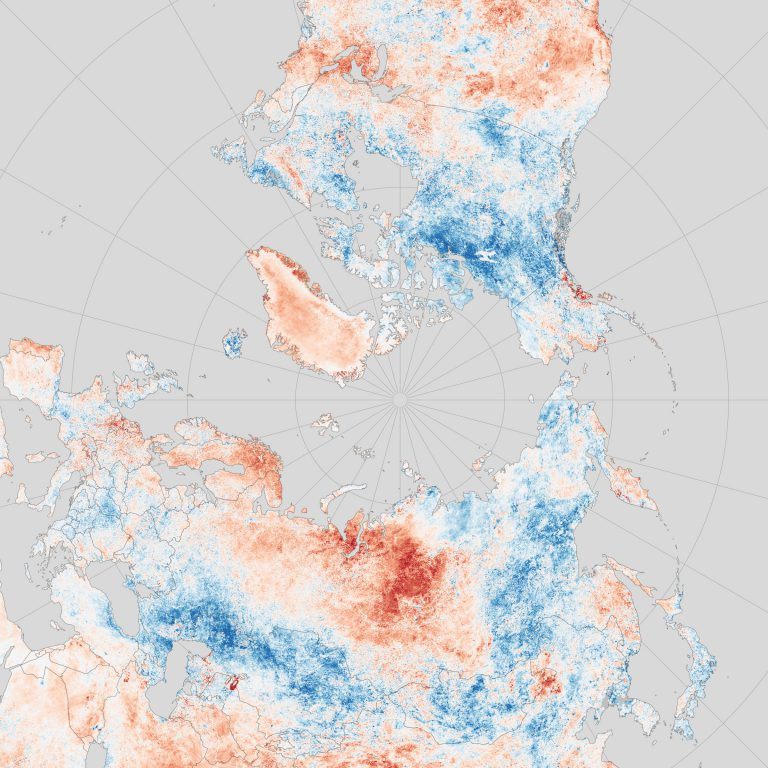 Сибирь под властью аномальной жары (карта)